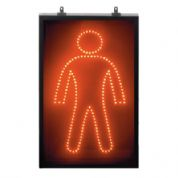 Male LED Red Sign (LED20)